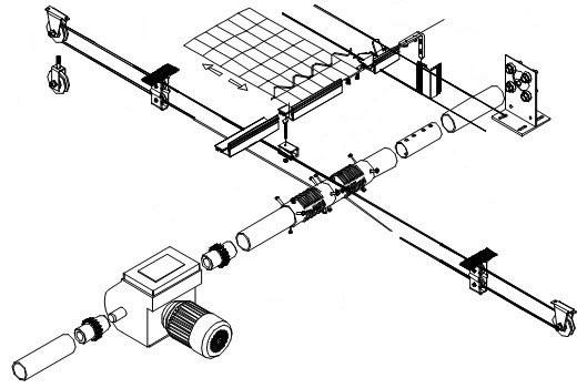 钢索拉幕系统