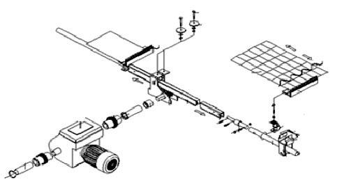A型拉幕系统