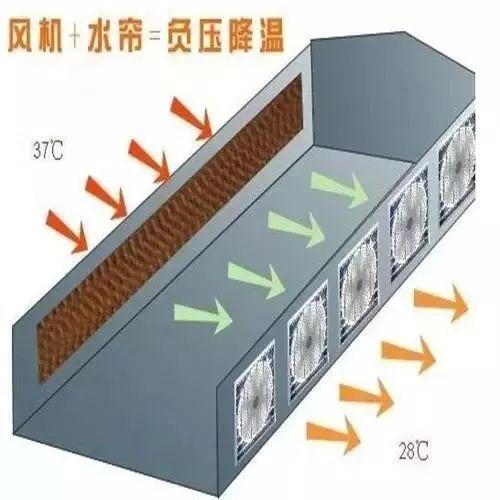 温室风机水帘原理